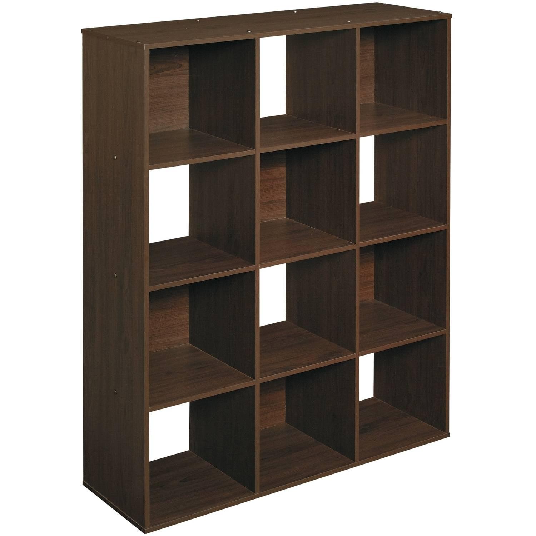 - ClosetMaid 12-Cube Organizer, Espresso - Walmart.com