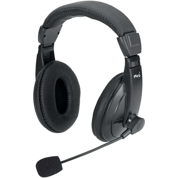 DIGITAL INNOVATIONS MM750H Full-Size Stereo Headset with Padded Earcups