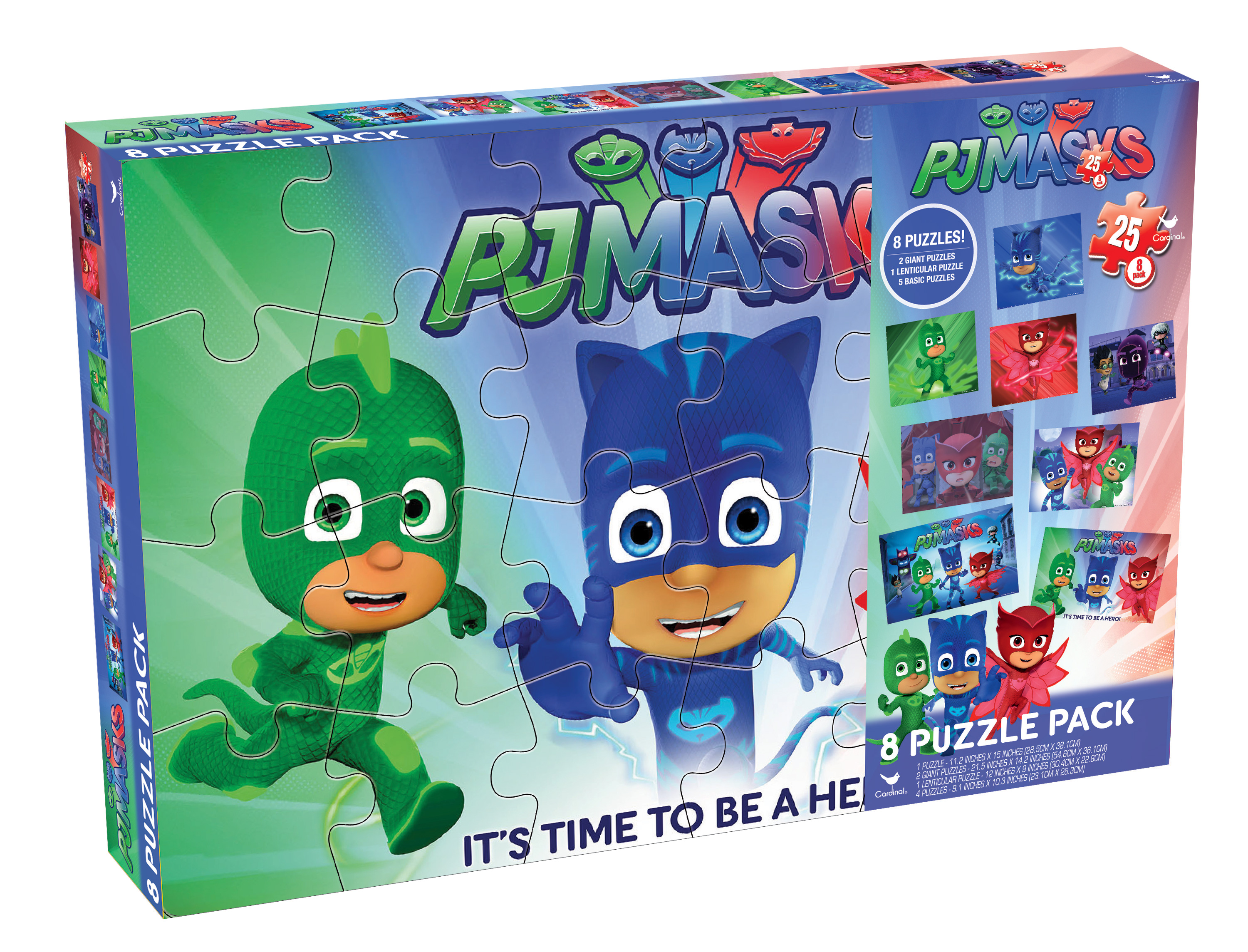 <p>Disneys PJ Masks 8-Pack Puzzle Box< p> by Spin Master Ltd