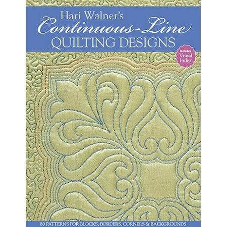 Continuous Line Quilting (Hari Walner's Continuous-Line Quilting)