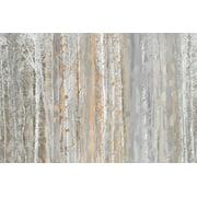Parvez Taj Aspen Forest Art Print on Premium Canvas