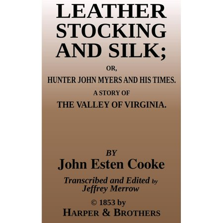 Leather Stocking and Silk - eBook