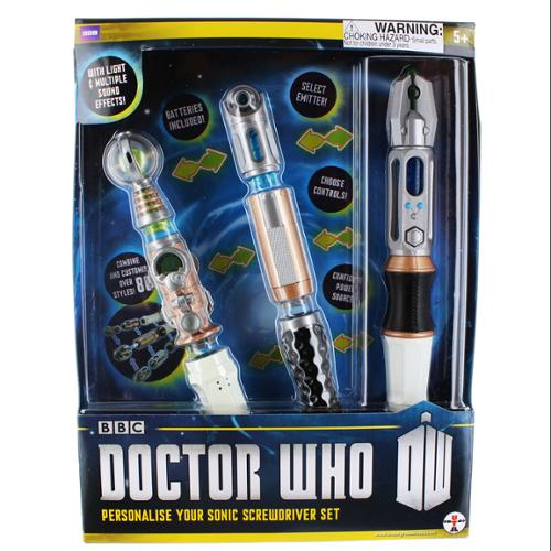 Doctor Who Personalize Your Sonic Screwdriver Set