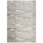 Rizzy Home Encore Beige Abstract Shag 8' x 10' Area Rug