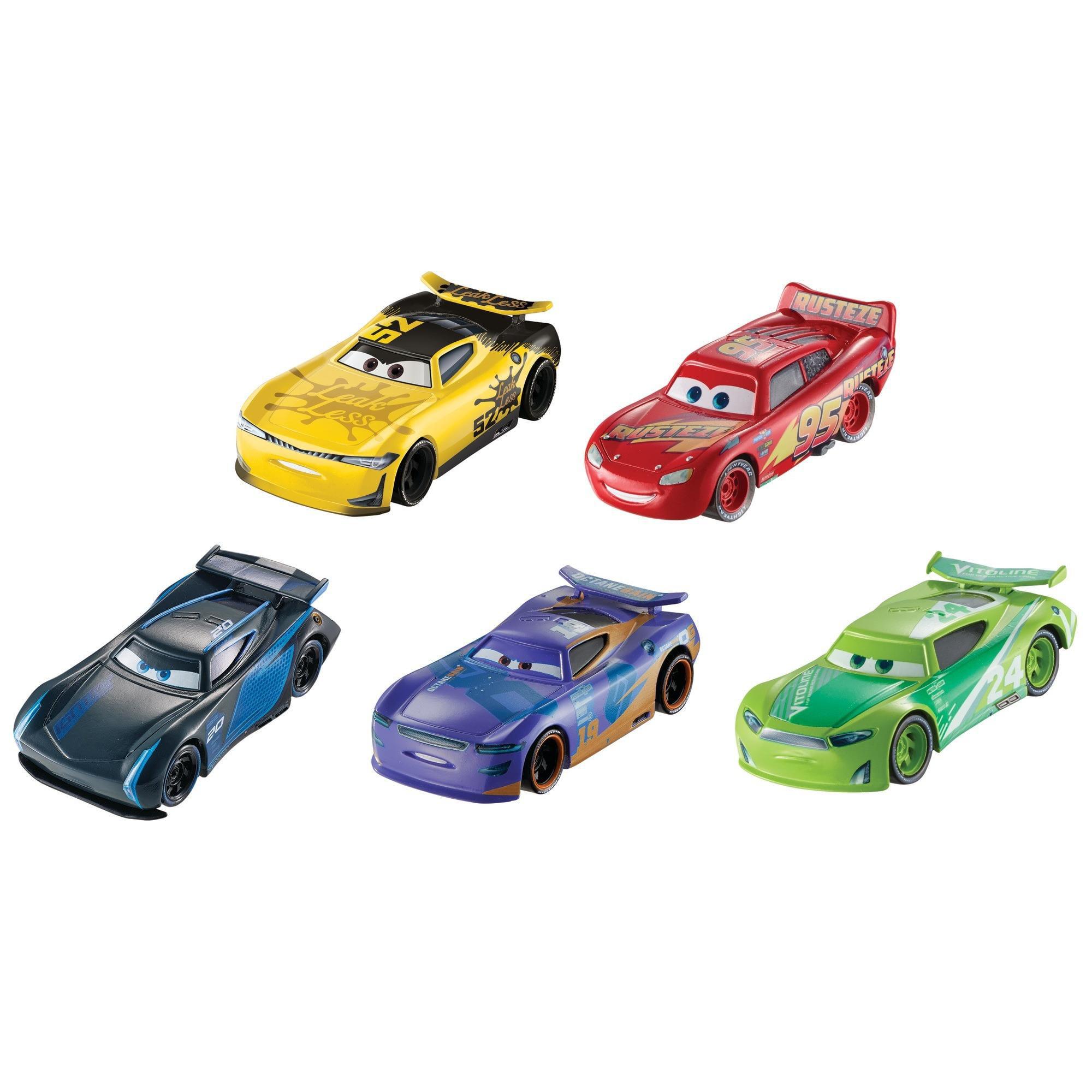Disney Pixar Cars 3 Vehicle 5 Pack Styles May Vary Walmart Com