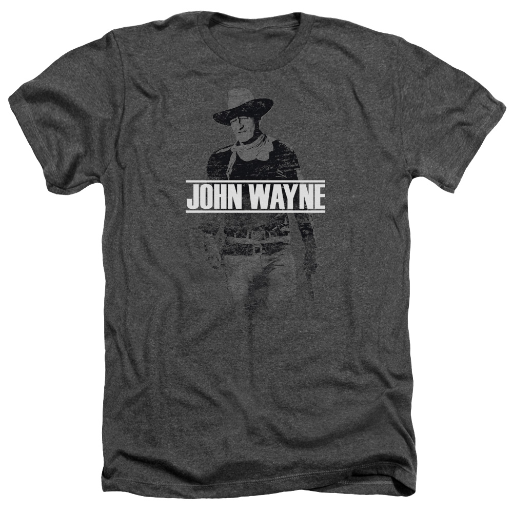 John Wayne Fade Off Mens Heather Shirt