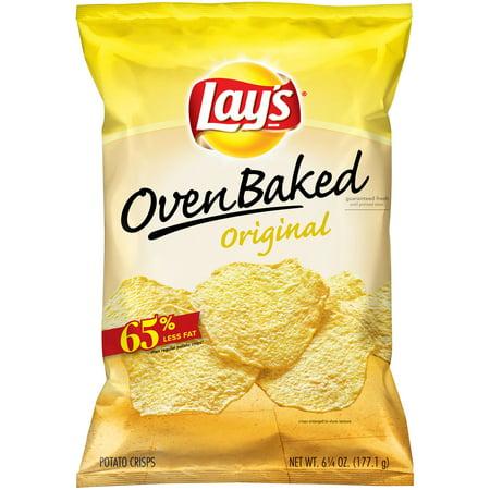 Lays  Oven Baked Original Potato Crisps 6 25 Oz  Bag
