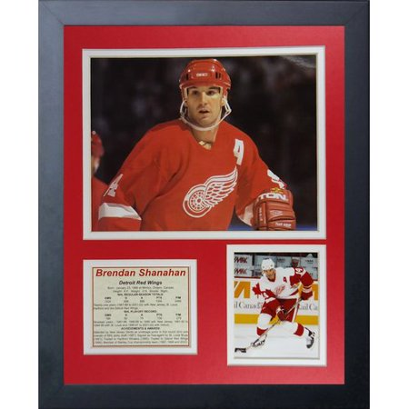 Legends Never Die Brendan Shanahan Framed Memorabilia