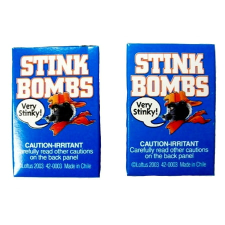 Stink Bombs Glass Viles Smells Bad Rotten Egg Fart Joke Gag Gift Trick Prank 6pk - Pranks And Gags