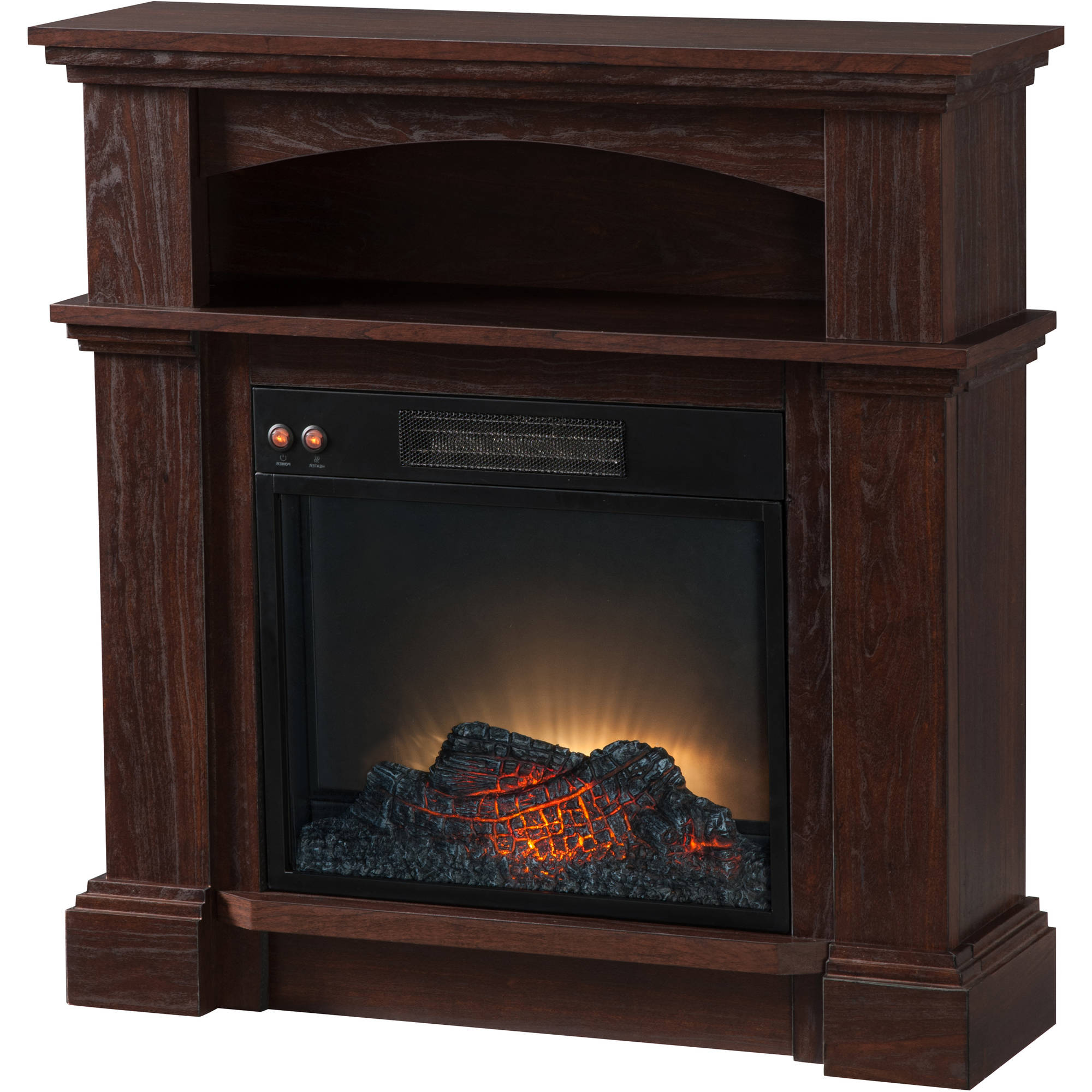 "Prokonian Electric Fireplace with 31"" Mantel SPD"