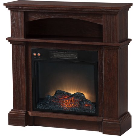 Prokonian Electric Fireplace With 31 Mantel Spd15021 Mahogany