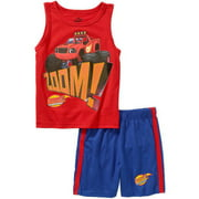 Nickelodeon Blaze Toddler Boys' Tank and Shorts Outfit Set - Online Exclusive