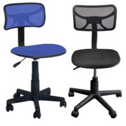 2 Chairs Set: Urban Shop Swivel Mesh Chairs Multiple Colors