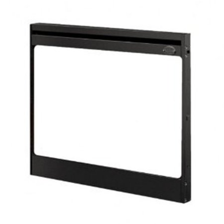 Dimplex Single Pane Tamperproof Glass Door for 33 in. Slimline Built-In Electric Firebox Dual Pane Glass Door