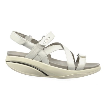 Mbt - MBT Shoes Women s Kiburi Sandal  10 Medium (B) White Velcro -  Walmart.com bd6cb72276