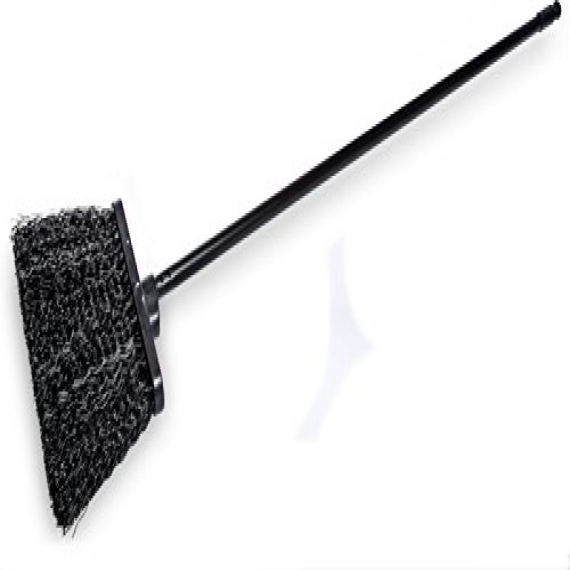 Carlisle 3688403 Flo-Pac Duo Sweep Synthetic Unflagged Warehouse Broom with Metal Handle,... by Cfs