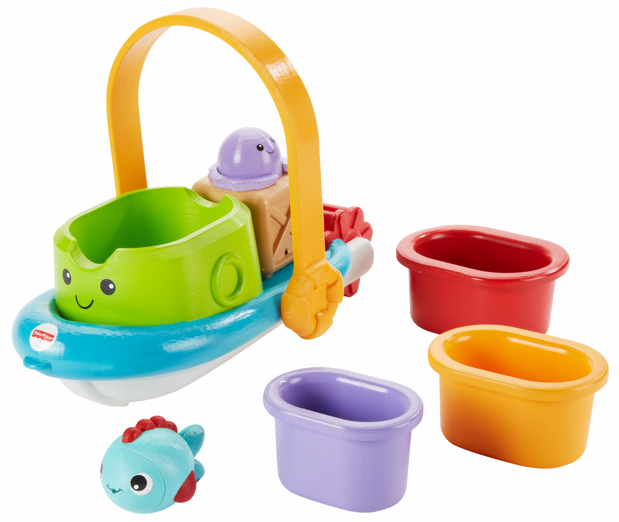 Fisher Price Stackin' Tubtime Boat by Fisher-Price
