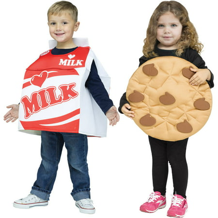 Milk Cookie Child Halloween Costume (Milk Bottle Costume)