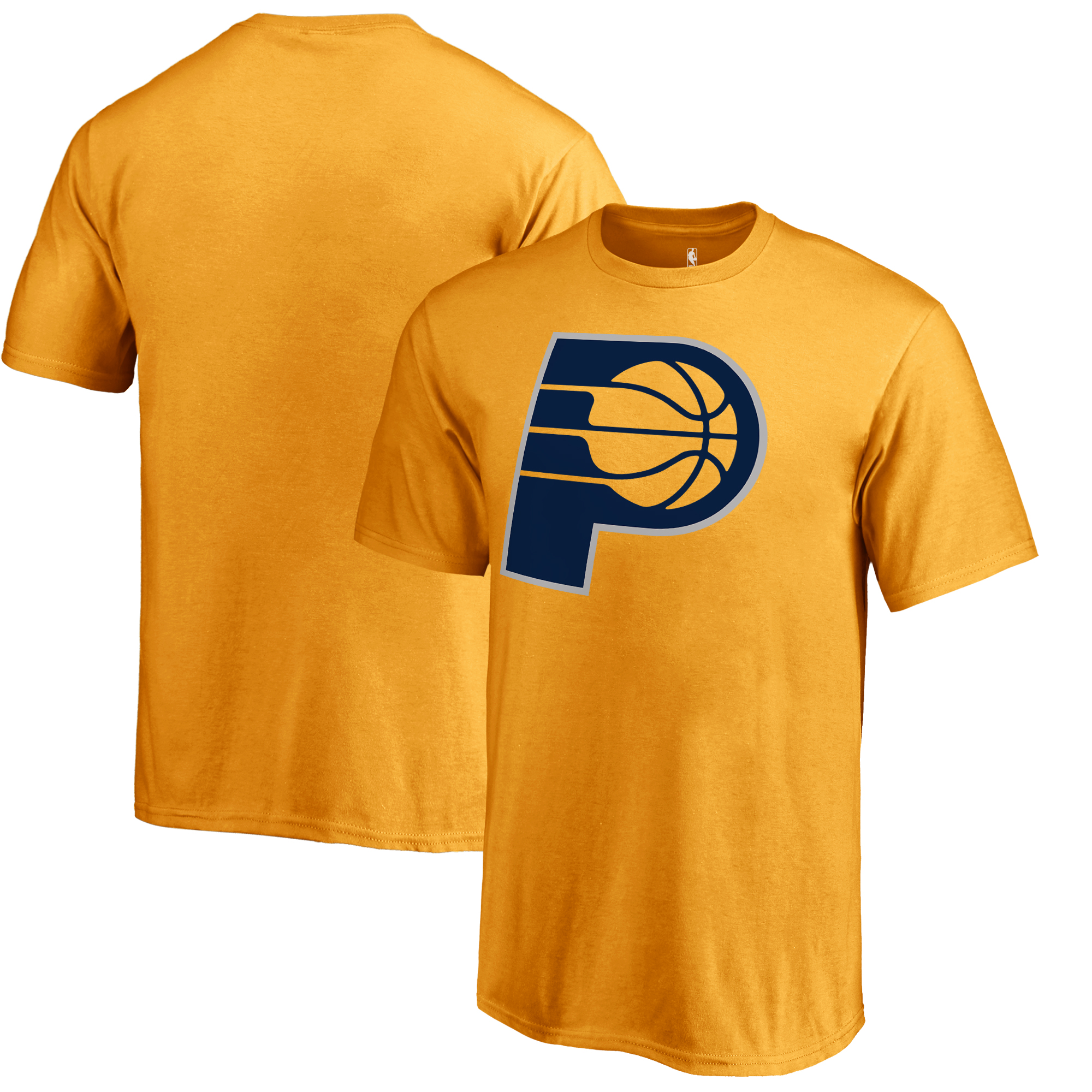 Indiana Pacers Fanatics Branded Youth Primary Logo T-Shirt - Gold