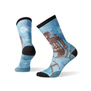 Smartwool Men?s Curated Crew Socks - Game of Ghosts Print, Ultra Lightly Cushioned Merino Wool Performance Socks