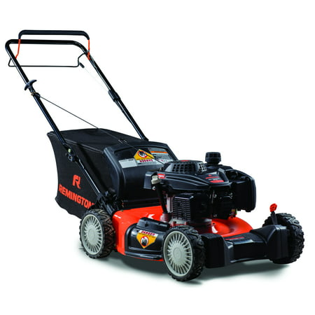 "Remington RM310 Explorer 21"" Self-Propelled RWD Gas Mower with Side Discharge, Mulching and Rear Bag"