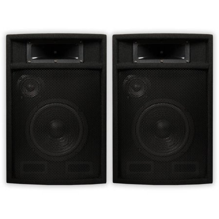 Acoustic Audio PA-380X Passive 1200 Watt 3-Way Speaker Pair DJ PA Karaoke Studio Speakers