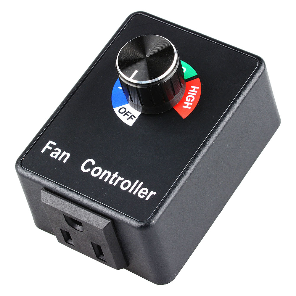 Yescom Electronic Fan Speed Controller Variable Adjustor
