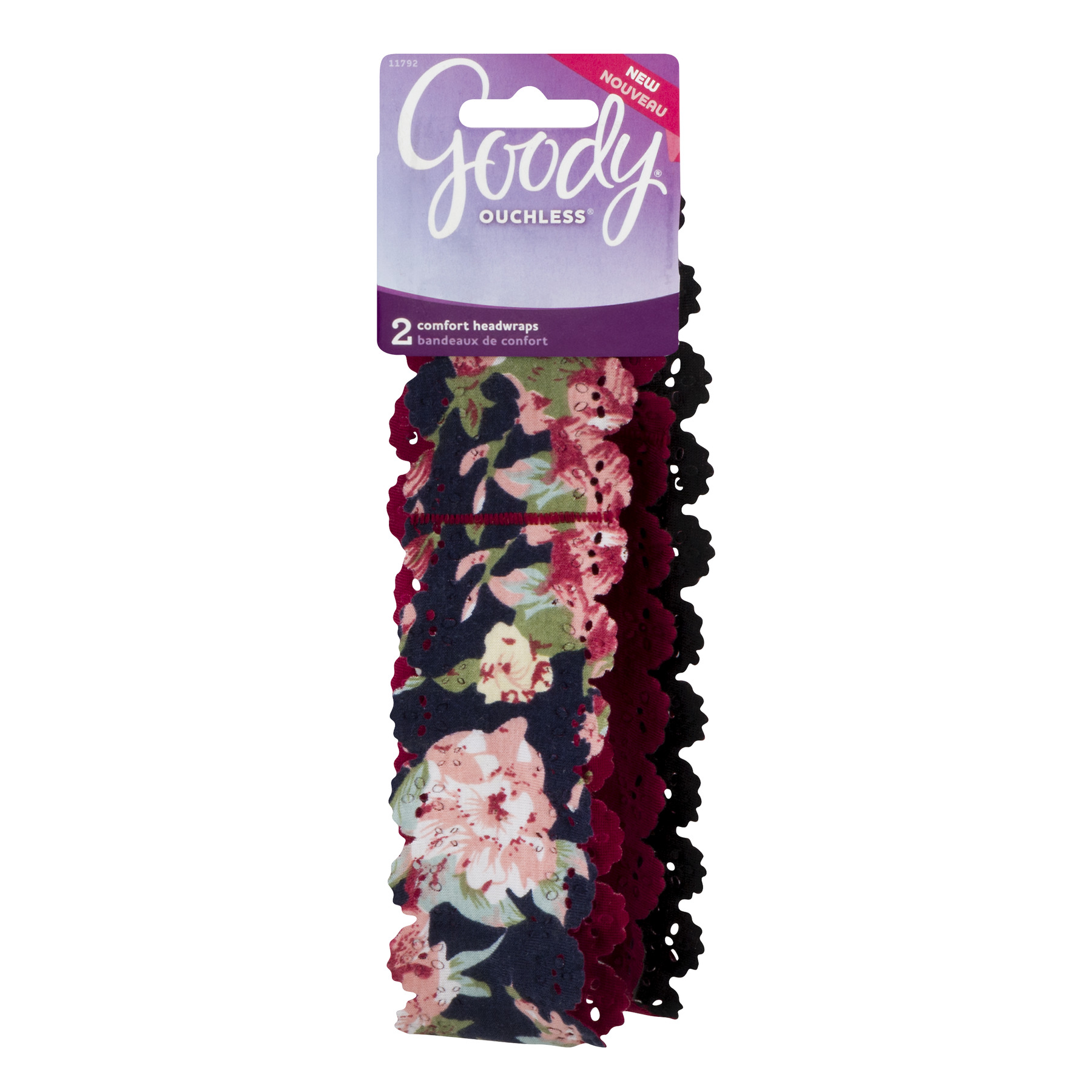 Goody Floral Headwrap 2 pack