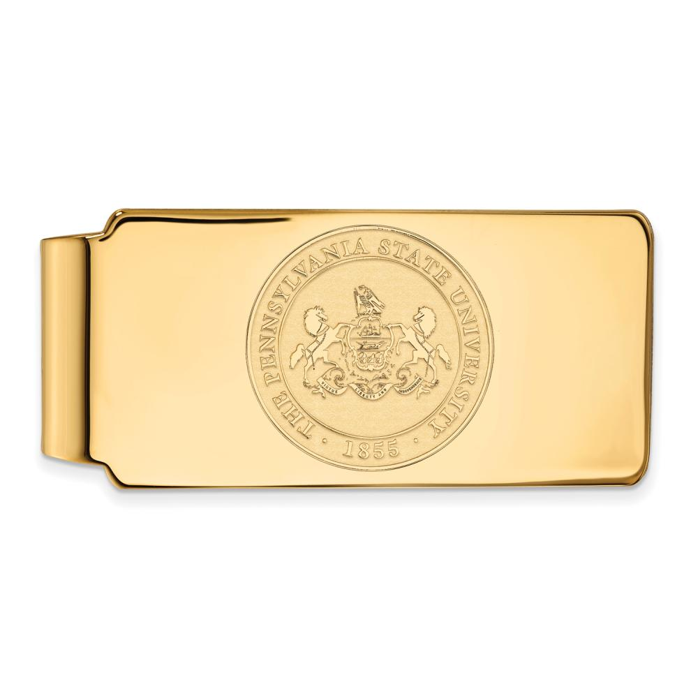 Penn State Money Clip Crest (Gold Plated)
