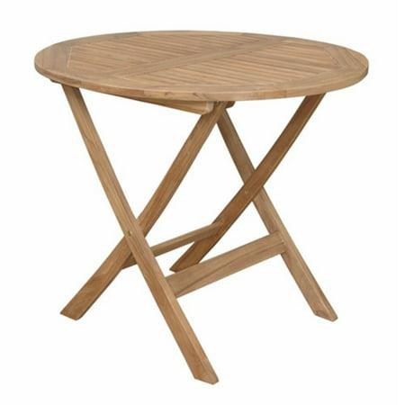 Anderson Teak Chester Folding Picnic Table ()