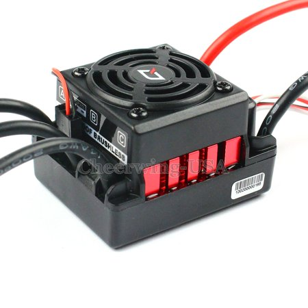 Hobbywing QUICRUN-WP-10BL60 60A Waterproof Brushless ESC Speed Controller For 1/10 RC Car Buggy