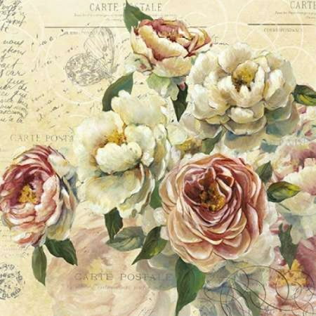 Scented Letter I Rolled Canvas Art - Carol Robinson (12 x 12)