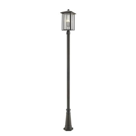 Z Lite 554PHXLR-519P-ORB 118.44 x 11 x 11 in. 3 Light Outdoor Post Mounted Fixture, Oil Rubbed Bronze - image 1 of 1