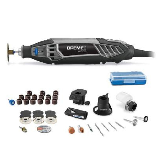 Dremel 4200-4 36 1.6 Amp Corded Variable Speed Rotary Tool Kit with 41 Accessories and 4... by Dremel