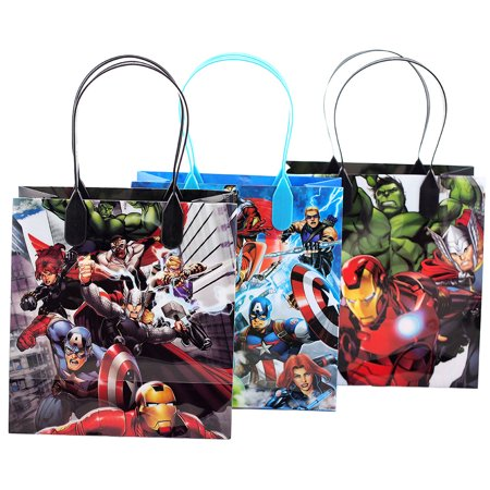 Avengers Party Ideas (Avengers 12 Party Favor Reusable Goodie Small Gift)