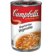 (4 pack) Campbell'sCondensed Vegetarian Vegetable Soup, 10.5 oz. Can