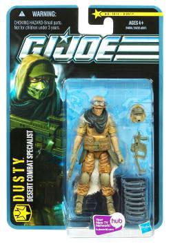 GI Joe Pursuit of Cobra Dusty Action Figure by