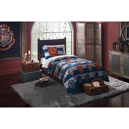 Harry Potter Quot Rugby Pride Quot 4 Piece Twin Bed In A Bag
