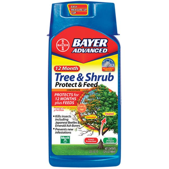 Bayer 701901A 32 oz. Concentrate Tree & Shrub Protect & Feed