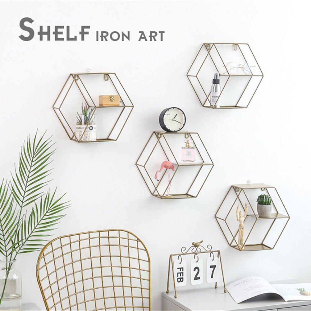 Wall Shelf Simple Wrought Iron