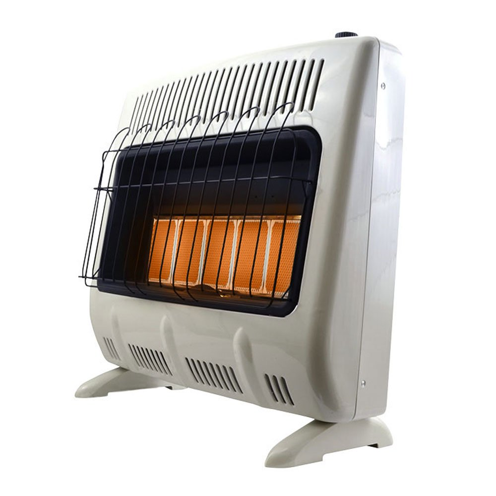Mr. Heater 30000 BTU Vent Free Radiant 20# Propane Indoor Outdoor Space Heater