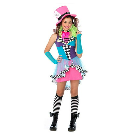 Leg Avenue Teen Girl's Junior Mayhem Mad Hatter Costume - Leg Avenue Maid Costume