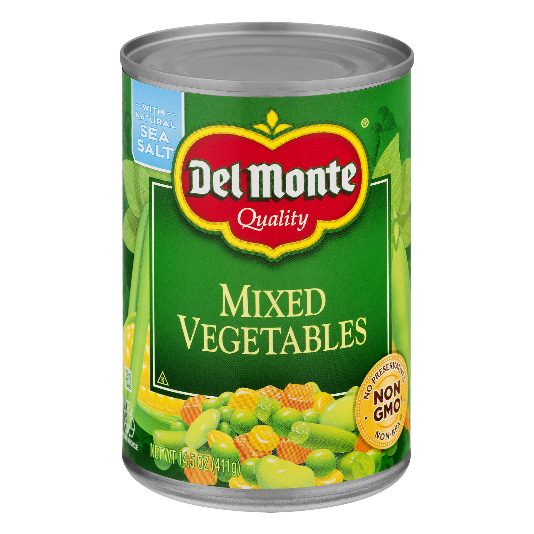 Del Monte Mixed Vegetables, 14.5 oz by Del Monte Foods
