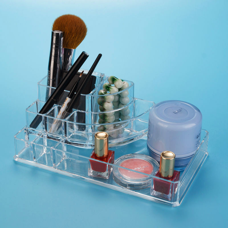 Felji Acrylic Makeup Organizer with Tray 1118