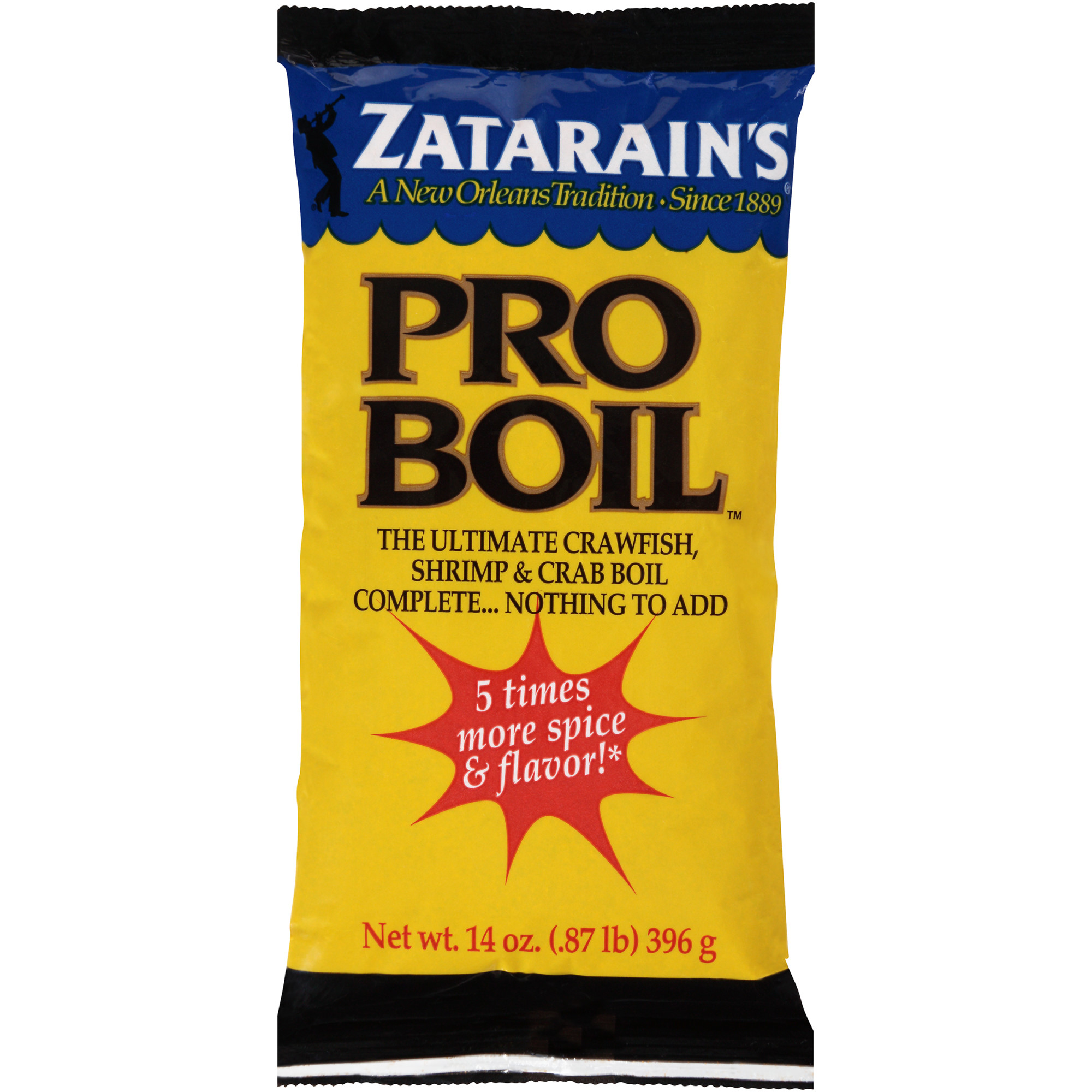 Zatarain's Pro Boil Poly Bag, 14 oz