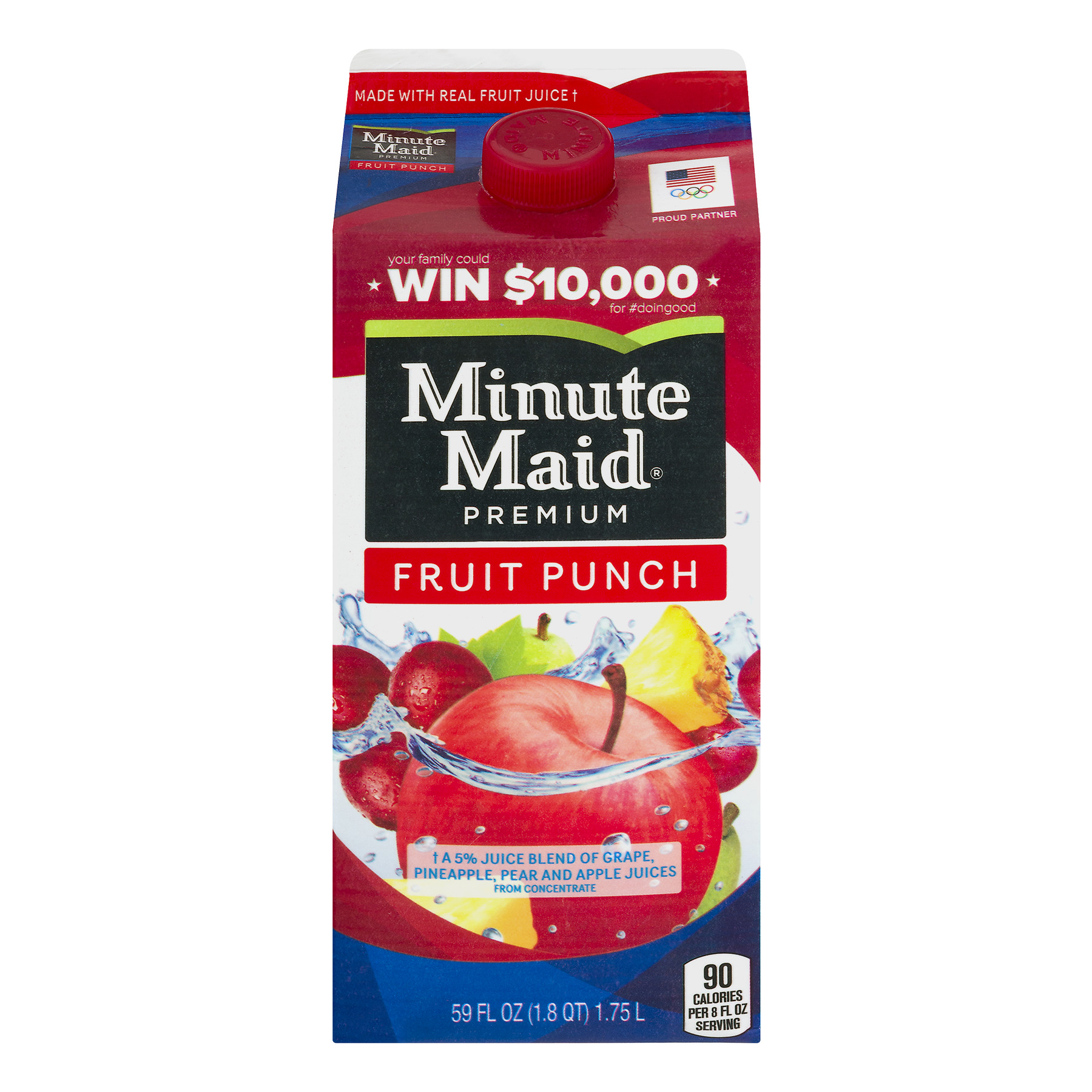 Minute Maid Premium Fruit Punch, 59.0 FL OZ