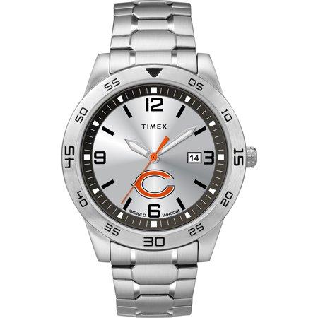 Chicago Bears Fan Series Watch - Timex - NFL Tribute Collection Citation Men's Watch, Chicago Bears