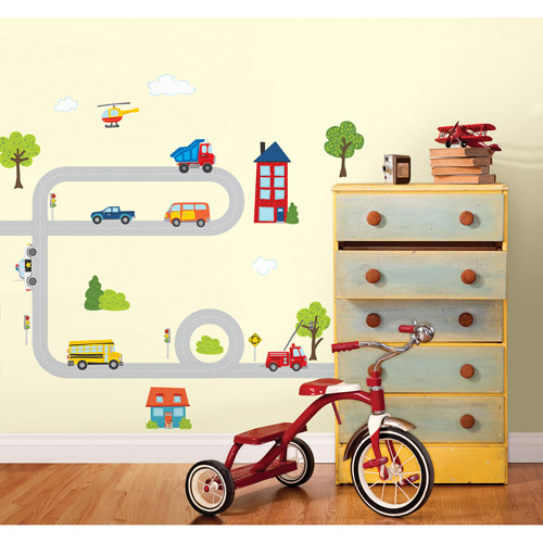 Wall Pops Around Town Kit Wall Decals
