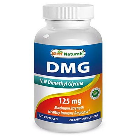 Best Naturals, DMG 125 mg 120 Capsules