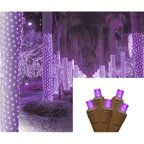 2 X 8 Warm White Led Net Style Tree Trunk Wrap Christmas